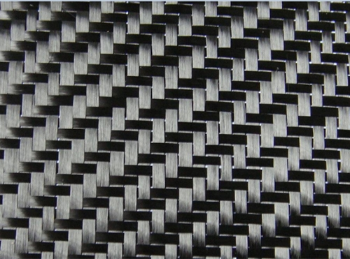 Carbon fiber twill two - way cloth