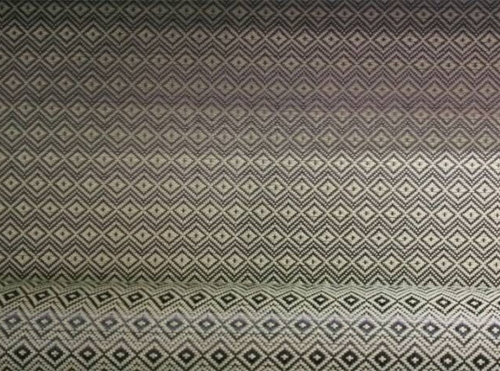 Aromatic carbon mixed with diamond jacquard