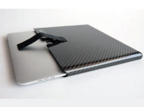 Carbon fiber laptop case
