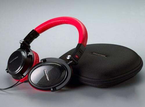 Carbon fiber headset shell
