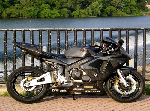 Carbon fiber motorcycle
