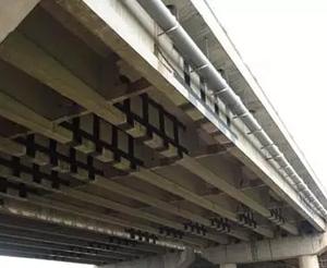 桥梁加固应用中的碳纤维