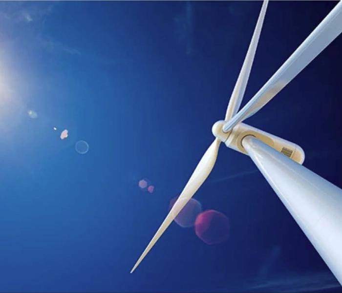 碳纤维垂直轴风力发电机模型