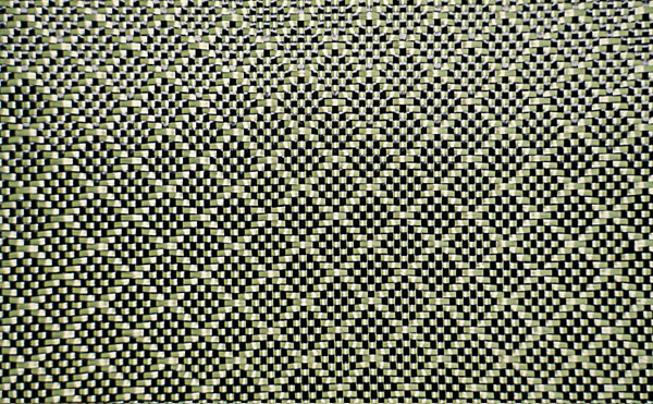 碳纤、芳纶混编提花布